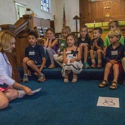 Storytelling in Children's Chapel