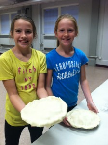 Baking Thanksgiving pies for the Needham Food Pantry