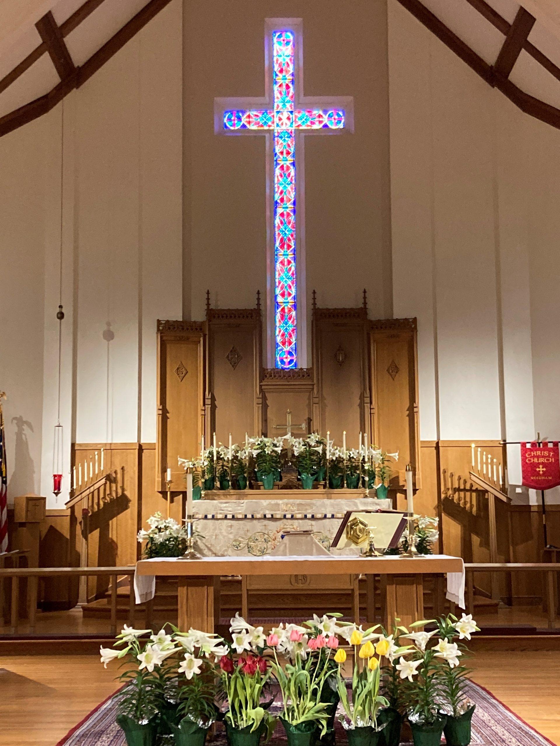 2021 Easter Altar full