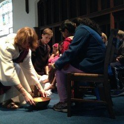 Maundy Thursday Feet Washing