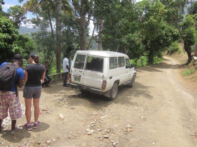 van  driving to Lazil